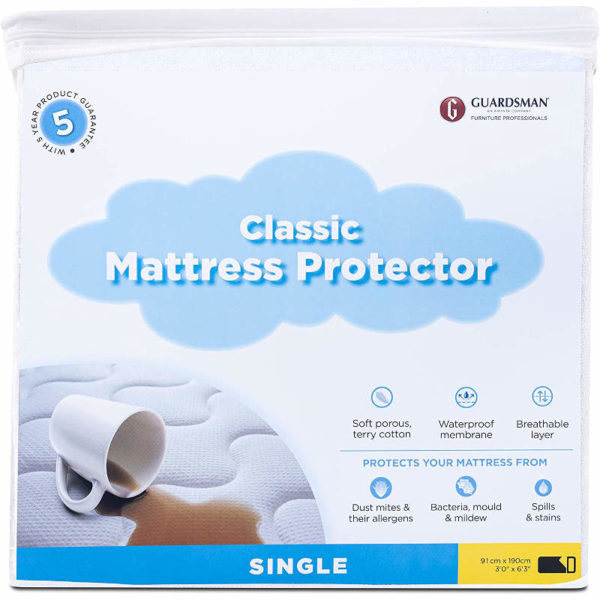 Guardsman classic single mattress protector