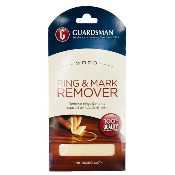Guardsman ring and mark remover cloth