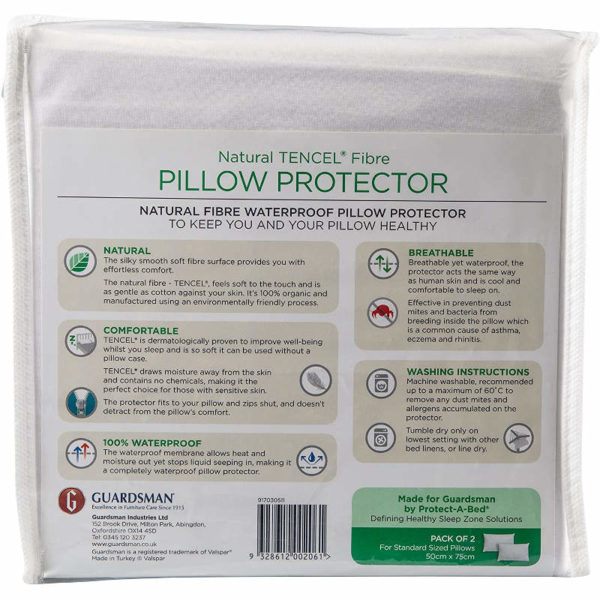 Tencel Pillow Protector instructions