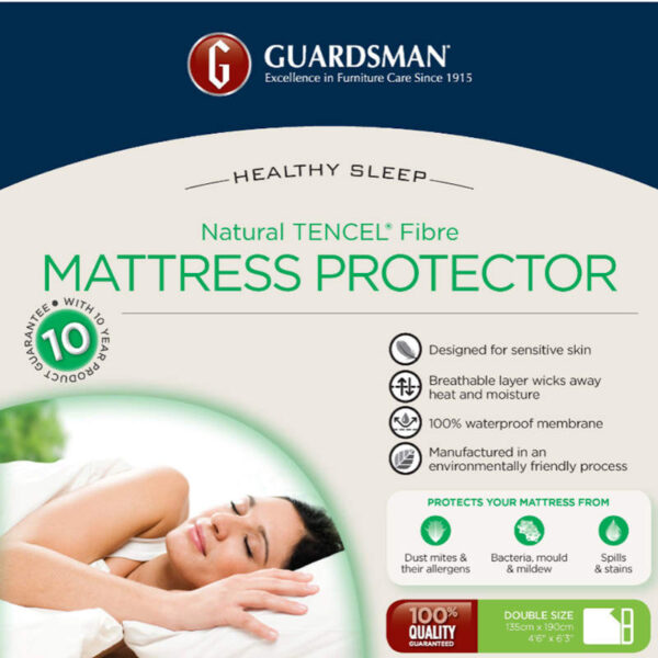 Guardsman mattress protector for double bed