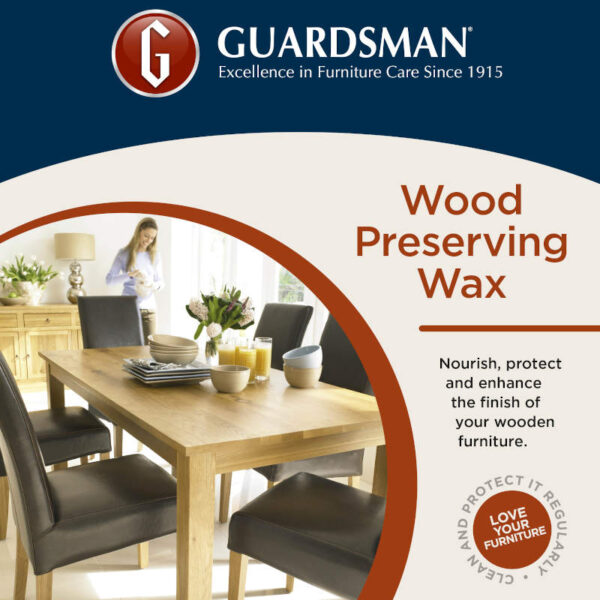 Guardsman wood preserving wax