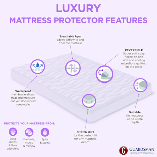 guardsman-luxury-mattress-protector-features