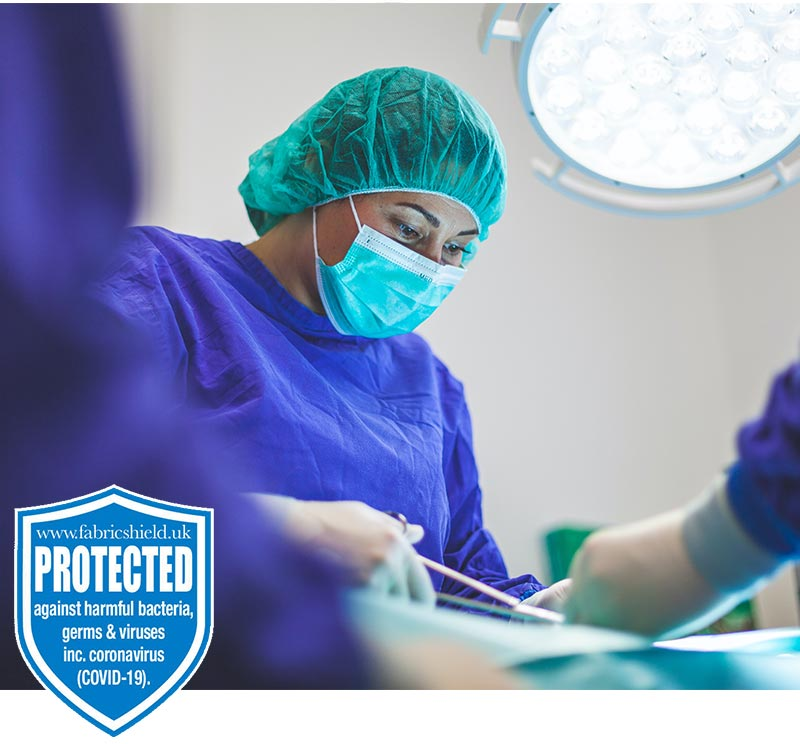 fabricshield fabric protection healthcare uk